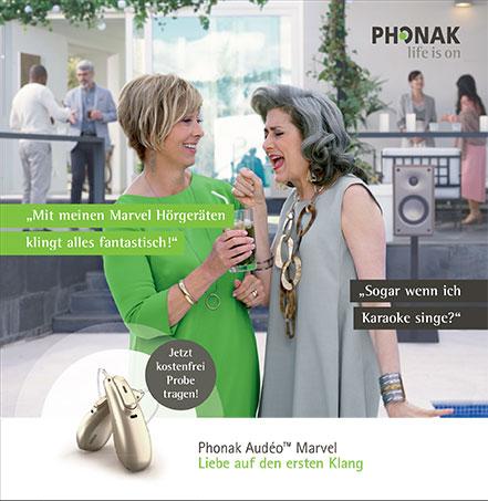 Das neue Phonak Audeo Marvel - hier klicken für mehr Informationen!