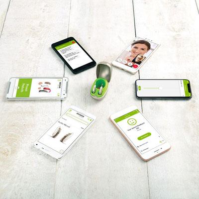 Smartphone-Konnektivität für iOS und Android